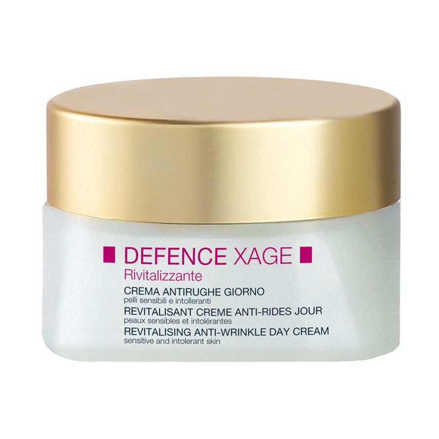 defence xage revitalising anti-wrinkle day cream